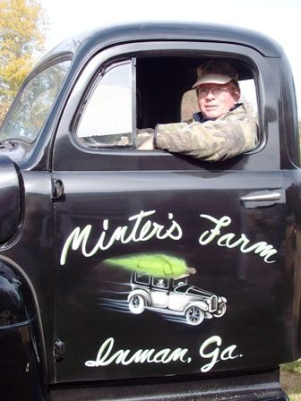 Rick in his 1951 Ford F5