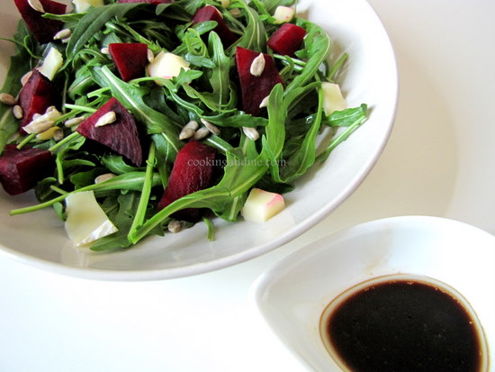 Beetroot Salad with Brie